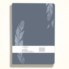 Abhyasi Note Book/Diary-Big-Grey Feather