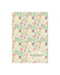 Abhyasi Note Book/Diary-Small-Green Floral