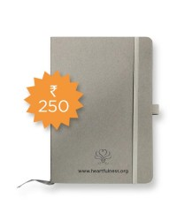 Denim Notebook - A5 - Grey