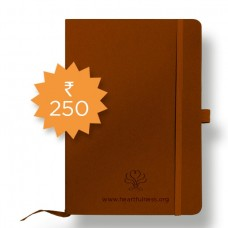 Denim Notebook - A5 - Brown