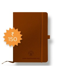 Denim Notebook - A6 - Brown