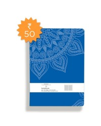 Abhyasi Note Book Small – Floral -A6(HINDI)